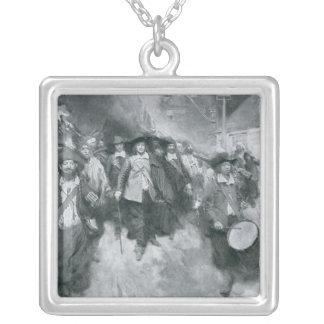 The Burning of Jamestown Custom Jewelry