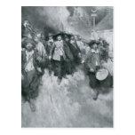 The Burning of Jamestown Postcard