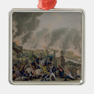 The Burning of Moscow, 15th September 1812, 1813 Metal Ornament