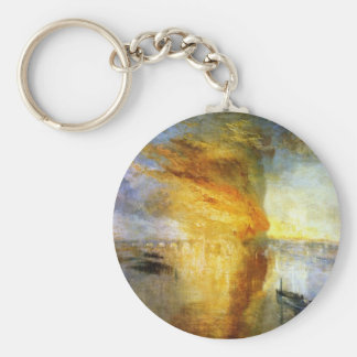 The Burning of the Houses of Lords and Commons Keychain
