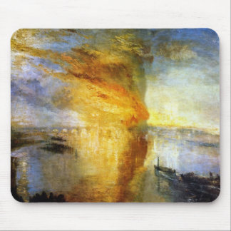 The Burning of the Houses of Lords and Commons Mouse Pad