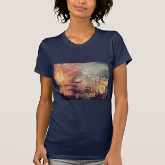 The Burning Of The Houses Of Parliament By Turner Tee Shirts