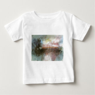 The Burning of the Houses of Parliament by William Baby T-Shirt