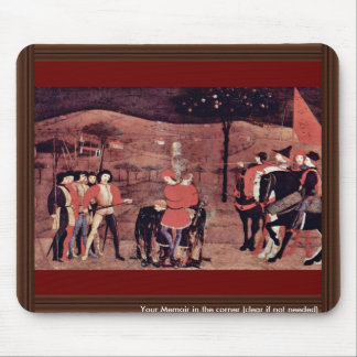 The Burning Of The Jewish Merchant And His Family Mouse Pad