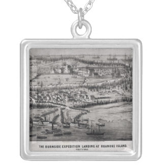 The Burnside Expedition Silver Plated Necklace