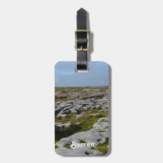 The Burren Tag For Bags
