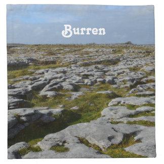The Burren Printed Napkins