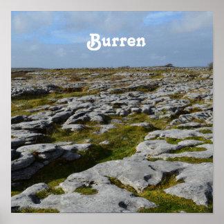 The Burren Posters
