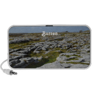 The Burren Notebook Speaker