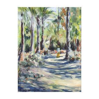 The Bush Road 2005 Canvas Print