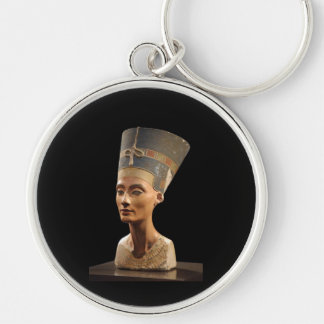 The Bust of Queen Nefertiti Keychains