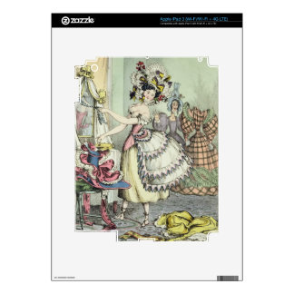 The Bustle, published by Thomas McLean, London (co iPad 3 Skin