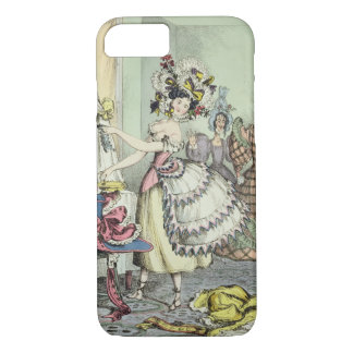 The Bustle, published by Thomas McLean, London (co iPhone 8/7 Case