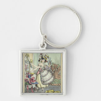 The Bustle, published by Thomas McLean, London (co Keychain