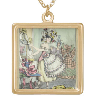 The Bustle, published by Thomas McLean, London (co Necklace