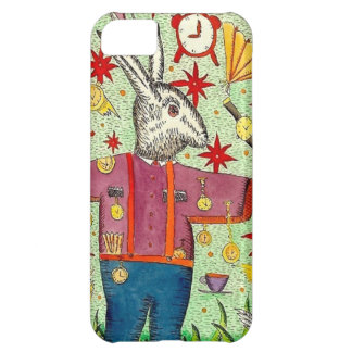 """""""The Busy Rabbit""""  (ip5c) Cover For iPhone 5C"""