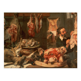 The Butcher's Shop Post Card