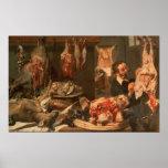The Butcher's Shop Print