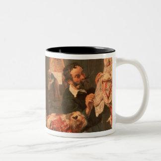 The Butcher's Shop Two-Tone Coffee Mug