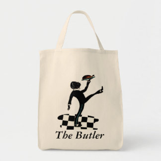 'The Butler' Grocery Tote Grocery Tote Bag