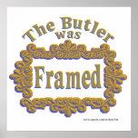 The Butler Was Framed! poster