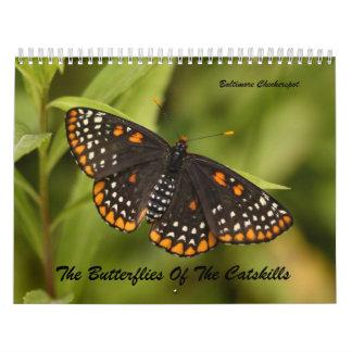 The Butterflies of the Catskills Calendar