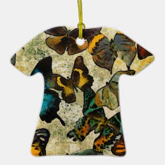 The Butterfly Collection Ceramic T-Shirt Ornament