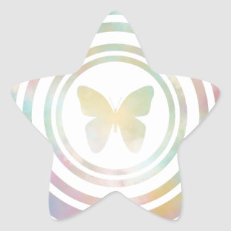 The Butterfly Effect Star Sticker