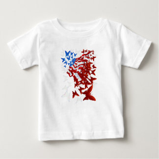 The Butterfly Flag Baby T-Shirt