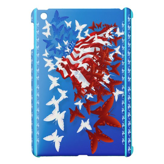 The Butterfly Flag iPad Mini Case