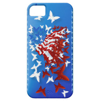 The Butterfly Flag iphone 5 iPhone SE/5/5s Case