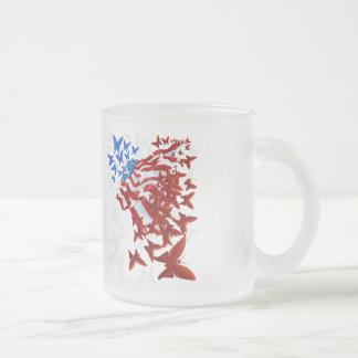 The Butterfly Flag Mug