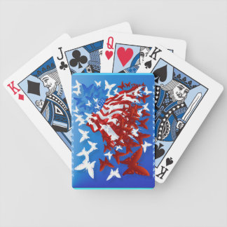 The Butterfly Flag Playing Cards