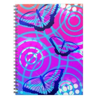 The Butterfly Flutter Notebook