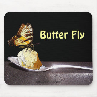 THE BUTTERFLY Fun Mousepad