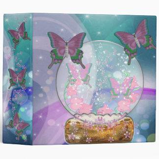 The Butterfly Globe Binder