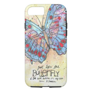 The Butterfly iPhone 7 case