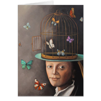 The Butterfly Keeper Card