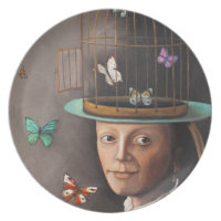 The Butterfly Keeper Party Plate