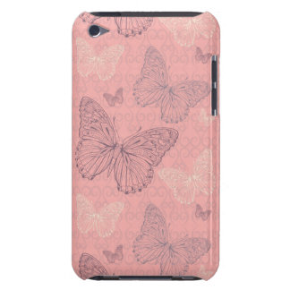 The Butterfly Pink iPod Touch Cases