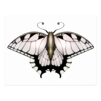 The Butterfly Project - Goldie Postcard