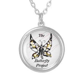 The Butterfly Project Round Pendant Necklace