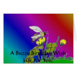 The Buzz and the Beauty Greeting Card