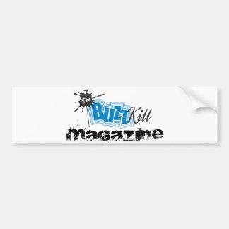 The Buzz Kill Magazine Bumper Sticker