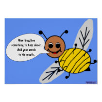 The Buzz with BuzzBee Poster