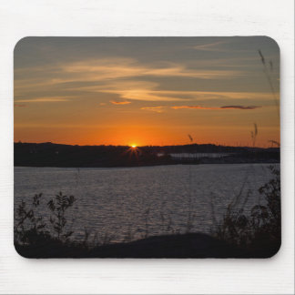 The buzzer sunset mouse pad