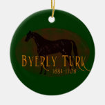 The Byerly Turk Christmas Ornaments