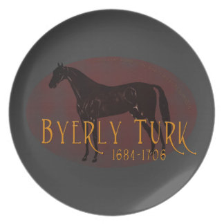 The Byerly Turk Dinner Plate