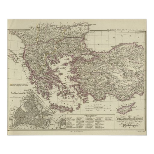 The Byzantine Empire until the Xite Poster