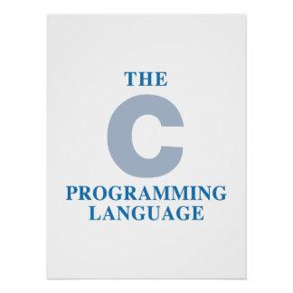The C Programming Language Poster